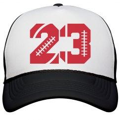 Trendy Football Girlfriend Hat