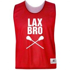 Lacrosse Lax Bro Custom Practice Pinnie