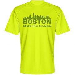 Never Stop Running Boston