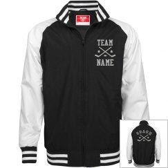 Personalized Ice Hockey Coach Unisex Team Jacket