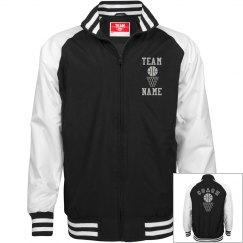 Personalized Basketball Coach Unisex Team Jacket