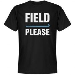 Think Field Hockey shirt