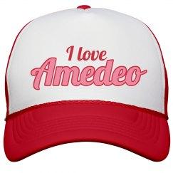 I love Amedeo