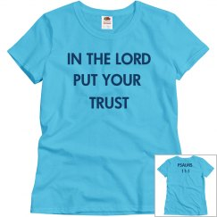 In the Lord Put Your Trust
