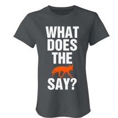 The Fox Says Wa-pa-pa-pa