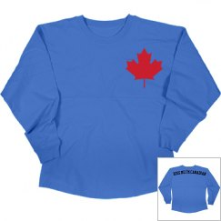 Kiss Me I'm Canadian Long Sleeve