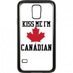 Kiss Me I'm Canadian SG5 Case