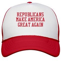 Republicans Support Trump Hat