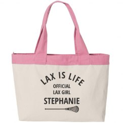 Official Lax Girl Tote