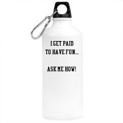Coach Conversation Water Bottle
