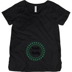 Irish Baby St Patricks Maternity Top