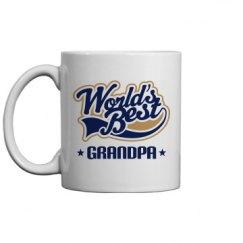 Grandpa Gift Mug (Worlds Best)