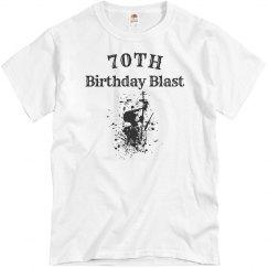 70th birthday blast
