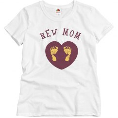 New Mom Tee