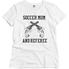 Soccer mom/referee