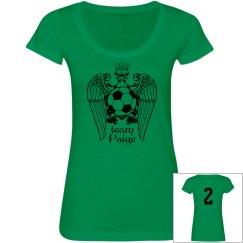Soccer Royalty Scoop Tee
