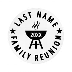 Custom Family Cookout Reunion