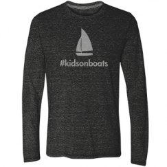 kidsonboats, long, gray