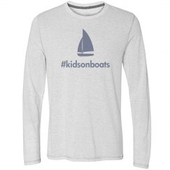 kidsonboats, long, white