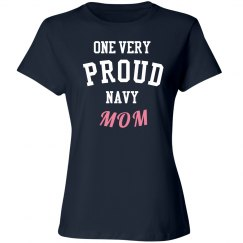 One very proud mom