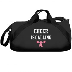 Cheer is calling