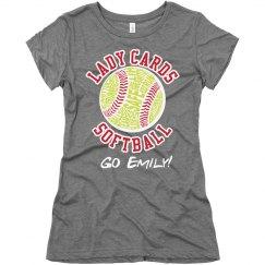 Typography Softball