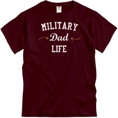 Military dad life