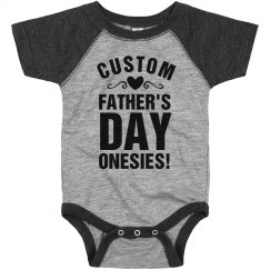 Design A Onesie for Fathers Day