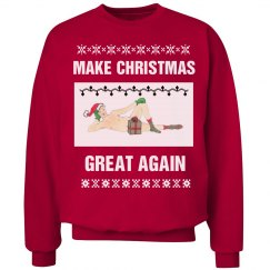 Trump Ugly Christmas Sweater