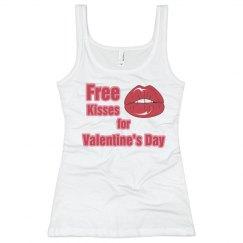Free Kisses Valentine's