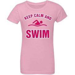 Keep calm and swim!