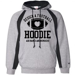 Design A Football Hoodie!