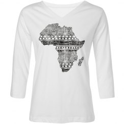 Patterned Map of Africa