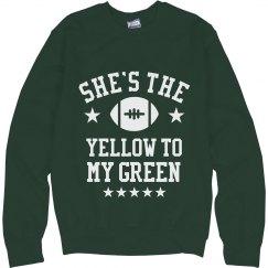 Yellow To My Green Sweater