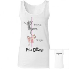 """Pole Kittens"" Tank Top"