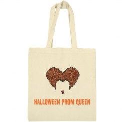 Halloween Prom Queen Tote