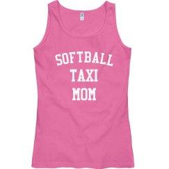 Softball taxi mom