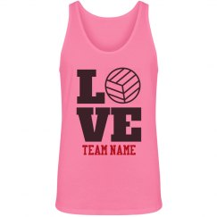 Custom Volleyball Love
