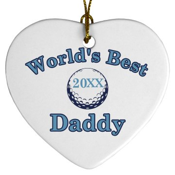 Daddy Ornament Design