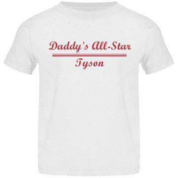 Daddy's All Star Tee