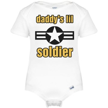 Daddy's Lil Soldier