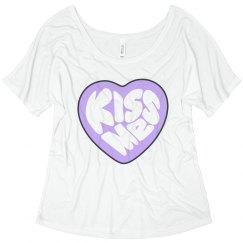 Kiss Me Candy Heart