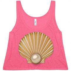 Golden Seashell Pearl