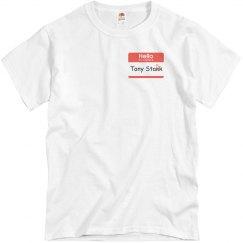 Unisex CA:CW Tony Stank Shirt