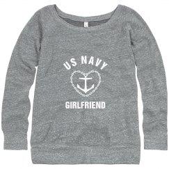 US Navy Girlfriend Anchor