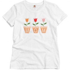 Mom Flower Graphic