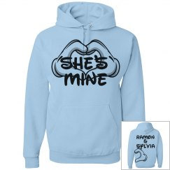 She's mine - Cartoon hand