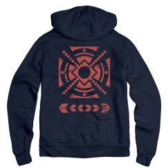 Aztec Distressed Design