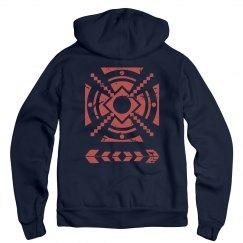 Aztec Distressed Design