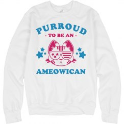 I'm Purroud To Be An Ameowican